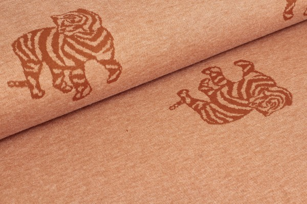 Fibre Mood Jacquard/Strick-Minnie-Tiger-terracotta