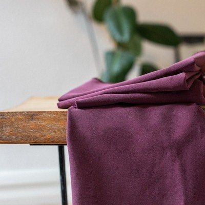 Meet Milk- Soft Stretch Twill-MAROON
