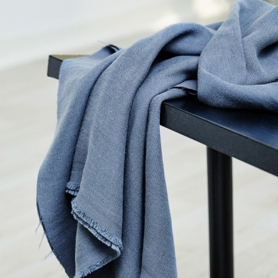 "Meet Milk ""Mara Linen Blend""-Dusty Blue"
